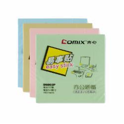 齐心(Comix) D6002 易事贴N次贴便签本便条纸100张76*76