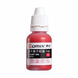 齐心(Comix) B3711 快干原子印油 30ML