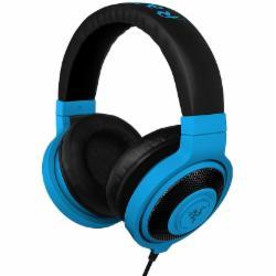 雷蛇(Razer)北海巨妖魔彩版游戏耳机 蓝色