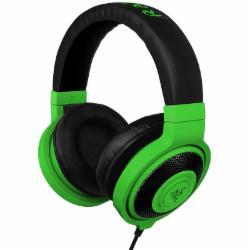 雷蛇(Razer)北海巨妖魔彩版游戏耳机 绿色