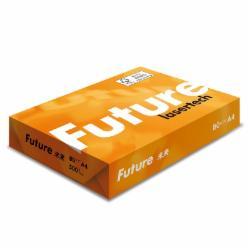 黄未来复印纸 A4 80G  500页/包 5包/箱