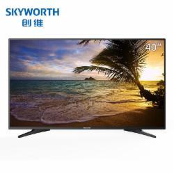 创维(Skyworth) 40E381S 40英寸高清平板智能互联网电视(含挂架)