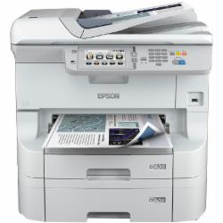 爱普生Epson WF-8593 A3+彩色商用墨仓式 复合机+纸盒C12C932611+落地纸盒C12C932891