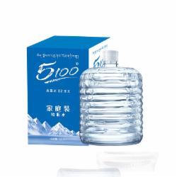 5100软桶水西藏冰川然矿泉水(12L/箱桶装水)
