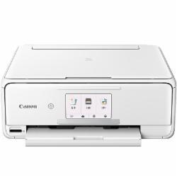 佳能(Canon)TS8180白色高品质照片打印一体机(喷墨打印、复印、扫描、无线)