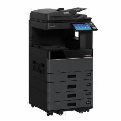 东芝e-STUDIO2010ACA3彩色复合机(含主机+双面器+双面输稿器+双纸盒+原装工作台)黑色