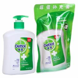 滴露(Dettol)500G+300G 洗手液