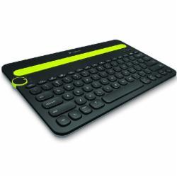 罗技(Logitech)K480 多功能蓝牙键盘 黑色