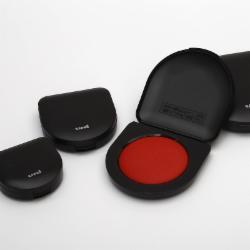 三菱(Uni)HSN-S50K 朱肉印台红色