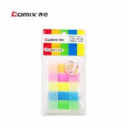 齐心(Comix)  D6017 五色荧光贴