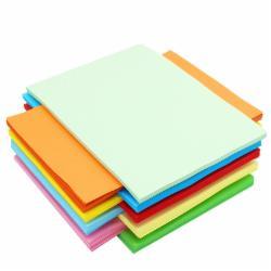 传美 A4 80G 彩色复印纸 粉红色单包装  500张/包