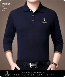 啄木鸟秋季新款纯棉长袖t恤