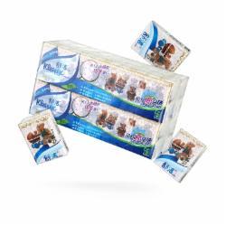 舒洁(Kleenex)手帕纸 小熊印花迷你纸巾40包装