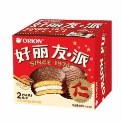 Orion 好丽友 营养早餐点心零食 巧克力派2枚68g