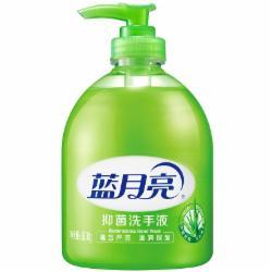 蓝月亮清洁抑菌滋润保湿洗手液(芦荟)500ml/瓶12支/箱