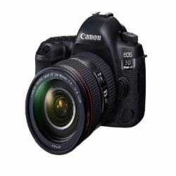 佳能 EOS 5D Mark IV 单反套机(EF 24-105mm f/4L IS II USM) 全画幅 3040万像素(含:闪迪128GB至尊超极速SD卡、原装电池X2、相机包、百诺三脚架 IT19C三角架)
