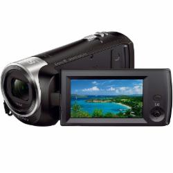 索尼 HDR-CX405 数码摄像机 64G卡/FB Q558S三脚架/电池套装NP-BX1 /高清线/摄像包/读卡器/清洁套装D-15318-黑色