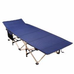 折叠床单人床办公室午休床 椭圆管加宽71cm