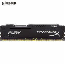 金士顿(Kingston) DDR4 2400 16GB 台式机内存 骇客神条 Fury雷电系列