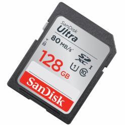 闪迪(SanDisk)128GB SD存储卡 C10 至尊高速版 读速80MB/s 捕捉全高清 数码相机理想伴侣