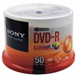 索尼(SONY)DVD刻录盘  DVD-R 50片
