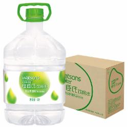 屈臣氏饮用水(蒸馏制法) 家庭用水 8L*2桶 整箱装