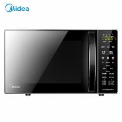 美的(Midea)M1-L201B升级款 变频微波炉 光波烧烤电烤箱一体机 智能解冻 20升