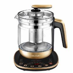 金灶(KAMJOVE)大容量全自动多功能可预约养生壶茶壶玻璃煮茶器 保温花茶壶智能燕窝壶HT-590/1.8L