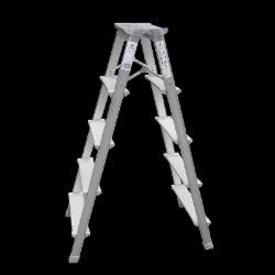 铝合金人字梯加厚折叠梯子 1.2米