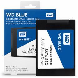 西部数据(WD)250GB SSD固态硬盘SATA3.0接口Blue系列-3D进阶高速读写版(五年质保)