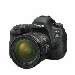 佳能(Canon)EOS 6D Mark II单反套机(EF 24-70mm f/4L IS USM镜头)(配64G卡+包)