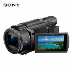 索尼(SONY)FDR-AX60 家用/直播4K高清数码摄像机(闪迪128G 170M/S SD卡+原装摄像机包+索尼原装NP-FV70备用电池+沣标(FB)捕捉者S-284C+S-Q36便携三脚架套装+天利55mm UV保护镜+沣标FB-360读卡器+威高清洁套装D-15318)