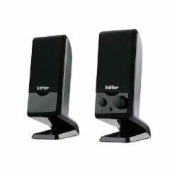 漫步者 R10U 便携式多媒体音箱 2.0声道 黑色