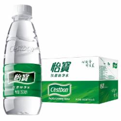 小怡宝 纯净水350ml (24瓶/箱)