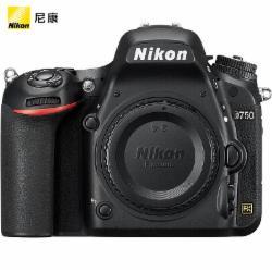 尼康(Nikon)D750进阶款全画幅单反相机机身(含两年延长保修)