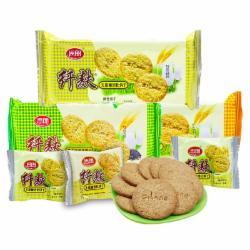 思朗纤麸消化饼干168G