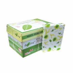 绿叶8开复印纸 80克 8k 1箱(5包) 绿叶 8开 80克 复印纸