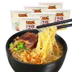 刘头淮南牛肉汤粉丝原味105g*6桶