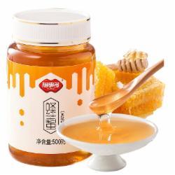 福事多蜂蜜500g 百花蜜 多花种 多种蜜源蜂蜜