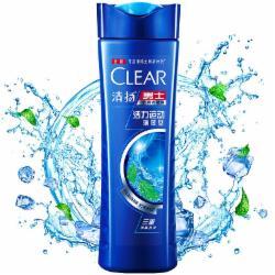 清扬(CLEAR)洗发水 男士去屑洗发露 205g