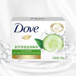 多芬(DOVE)香皂 清透盈润香块100g