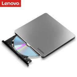 联想(Lenovo)8倍速 铝合金Type-C USB2.0外置光驱 外置DVD刻录机 移动光驱 (Windows/MAC系统/DB85)