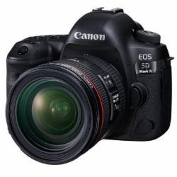 佳能(Canon)EOS 5D Mark IV 5D4单反套机全画幅(EF 24-70mm f/4L IS USM 单反镜头)(含佳能LP-E6N原装锂电池+闪迪128GB SD存储卡至尊超极速版+米泊铁塔MTT701B三角架带液压云台+佳能5D4原装相机包+飚王USB3.0读卡器+清洁套装)一年保修